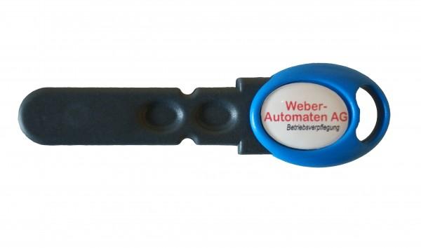 Oscar Schlüssel blau